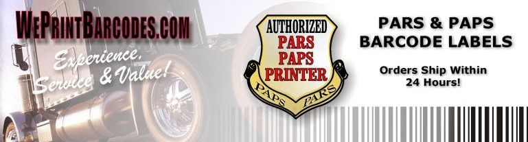 Pars and Paps Customs Labels