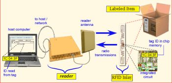 Typical RFID label application