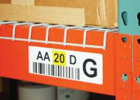 Barcode Rack/Bin/Shelf Labels